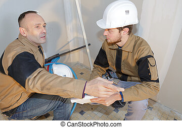the interior construction team
