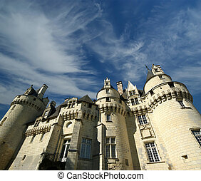 The interior of the Usse Castle, Loire Valley, France --also known as Sleeping Beauty's Castle