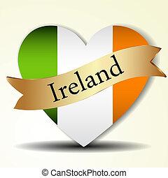 The Irish flag