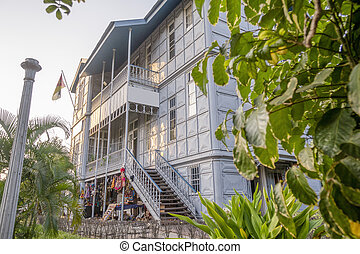 The iron house in Maputo, Mozambique