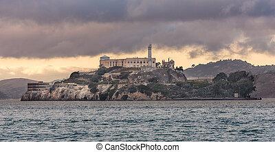 Alcatraz - the Island of Alcatraz