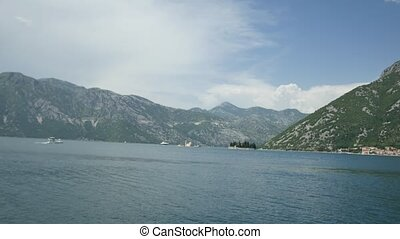 The island of Gospa od Skrpjela, Kotor Bay, Montenegro.