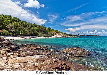The island of Koh Samet in Thailand.