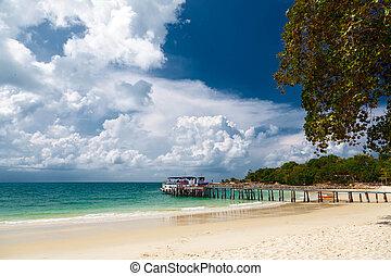 The island of Koh Samet in Thailand