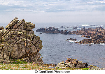 the island of Ouessant, off Brittany