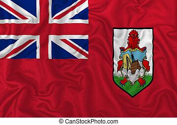 The islands of Bermuda flag