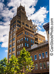 The Jackson Building in downtown Asheville, North Carolina.