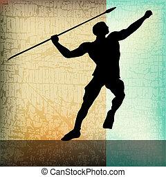 The Javelin, Athletics Background