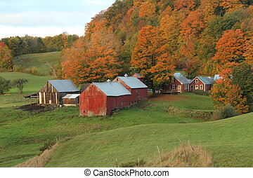 The Jenny Farm in Vermont.