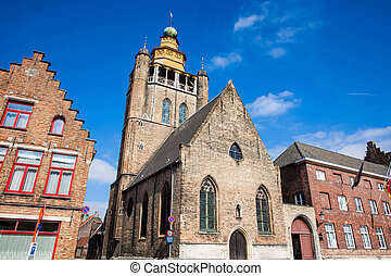 The Jerusalem church at the historical town of Bruges