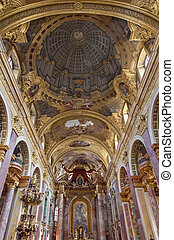 The Jesuit Church or the University Church vienna, Austria