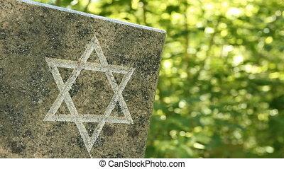 The Jewish cemetery