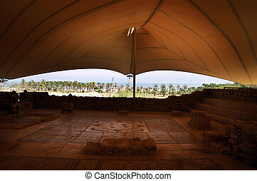 The Jewish Synagogue of Ein Gedi - The Jewish Synagogue in...