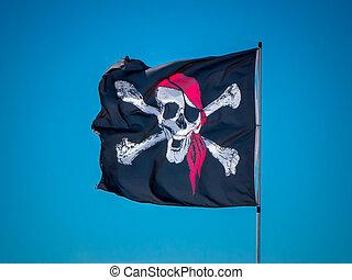 the jolly roger flag