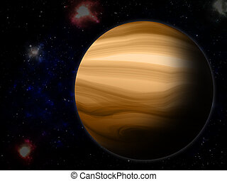 The Jupiter from space