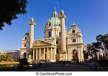 The Karlskirche - Vienna Austria