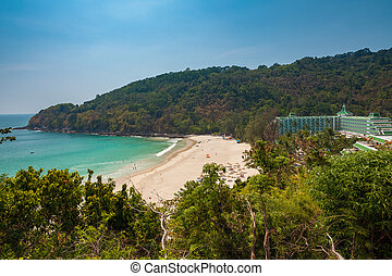 The Karon Noi Beach, Phuket, Thailand - Daytime view of the...