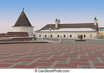 The Kazan Kremlin, Republic of Tatarstan, Russia - The Kazan...