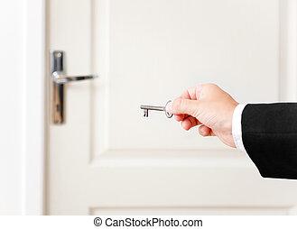 The key to open a door