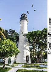 The Key West Lighthouse, Florida, USA