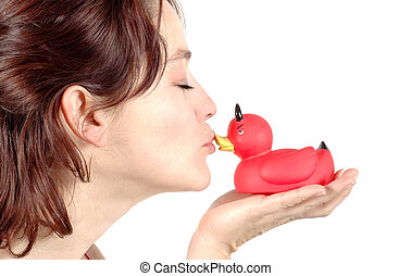 The Kiss - duck
