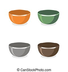 the kitchen Bowls.
