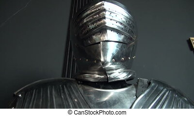 The knight's armor