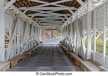 The Knox Covered Bridge in Valley Forge Park - The Knox...