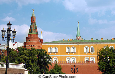 The Kremlin wall with Arsenal tower