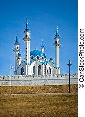 The Kul Sharif mosque of Kazan city in Russia