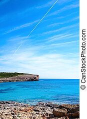 The lagoon on Mallorca Island