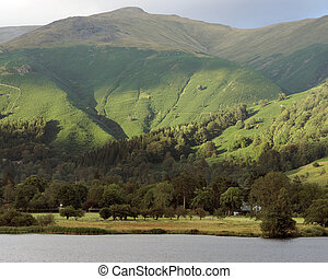 The Lake District in Cumbria