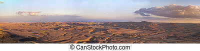 The Landscape in Ramon Crater, Israel