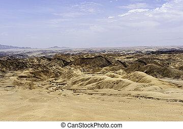 landscape of Namib Desert