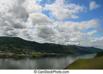 The Landscape with cloud.