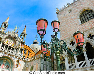 The lantern on St Marks square