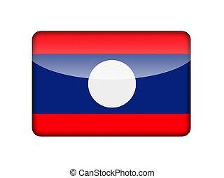 The Laotian flag