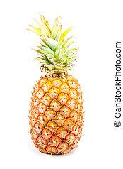 ananas - the large ananas isolated on white background