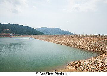 the largest dam in Penang, Malaysia. - The largest dam in...