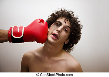 the last round - born to be a boxer? I dont' think so....