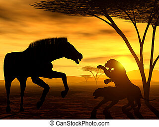 The Law of Nature - Illustration of african law of nature