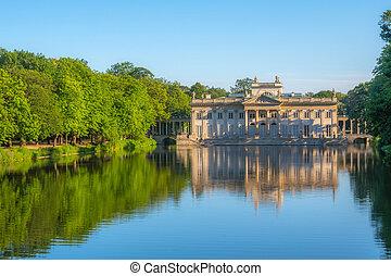 The Lazienki palace, Warsaw, Poland