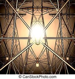 The light bulb.