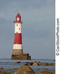 The Light House at Beachy Head - The Famous Navigation Aid ...
