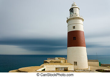 The lighthouse at Europe Point