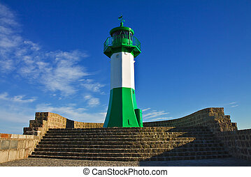The lighthouse in Sassnitz (Germany).