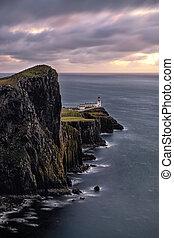 The lighthouse of Neist point