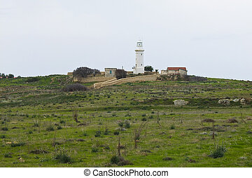 the lighthouse of paphos