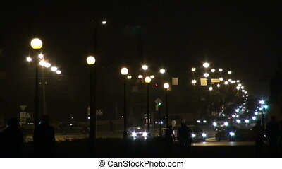 The lights in the defocusing