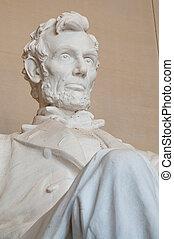 Lincoln Memorial - The Lincoln Memorial in Washington, DC,...